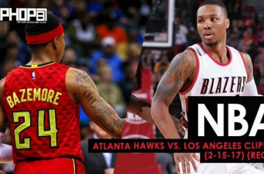 NBA: Atlanta Hawks vs. Portland Trailblazers (2-13-17) (Recap)