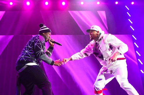 chris-brown-trey-songz-bts-tour-3-500x331 Chris Brown Announces 'The Party Tour' With 50 Cent, Fabolous, French Montana & More!