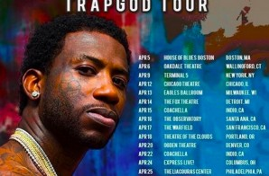 "Gucci Mane Drops ""Trap God"" Tour Dates!"