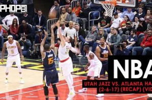 NBA: Utah Jazz vs. Atlanta Hawks (2-6-17) (Recap) (Video)