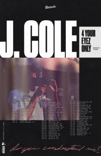 jc-324x500 J. Cole Announces '4 Your Eyez Only' Tour