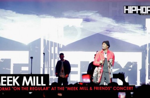 "Meek Mill Performs ""On The Regular"" at His Meek Mill & Friends Concert 2017 (Video)"