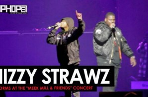 Nizzy Strawz Performs at The Meek Mill & Friends Concert 2017 (Video)
