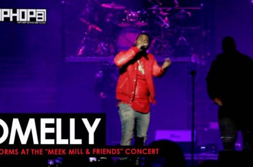 "Omelly Performs ""Drill Something"" & More at The Meek Mill & Friends Concert 2017 (Video)"