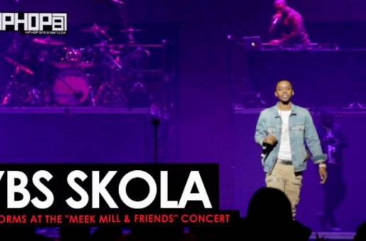 "YBS Skola Performs ""Whole Lotta Money"" at The Meek Mill & Friends Concert 2017 (Video)"