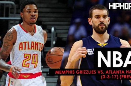 NBA: Memphis Grizzlies vs. Atlanta Hawks (3-16-17) (Preview)