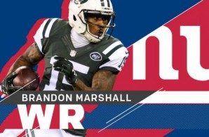 New York State Of Mind: WR Brandon Marshall Signs a 2 Year Deal With The New York Giants