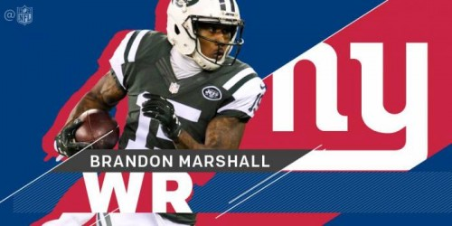 C6Z2y1VWYAA7wDX-500x250 New York State Of Mind: WR Brandon Marshall Signs a 2 Year Deal With The New York Giants