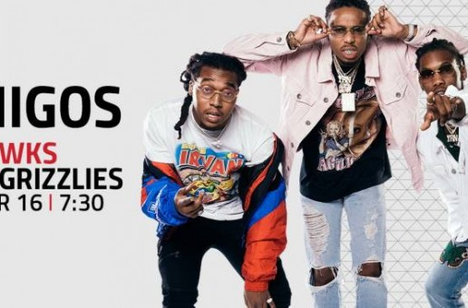 The Atlanta Hawks & Migos Are Joining Forces for Raindrops, Drop Tops and a Pop-Up Show on March 16 vs. Memphis