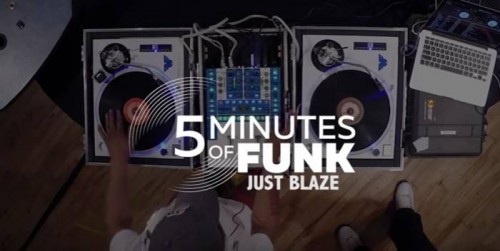 JustBlaze-500x251 Just Blaze on 5 Minutes of Funk on Hot 97 w/ Funkmaster Flex