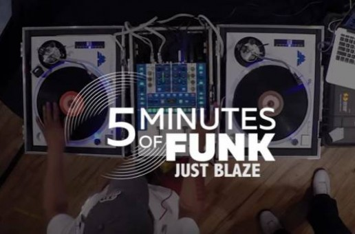 Just Blaze on 5 Minutes of Funk on Hot 97 w/ Funkmaster Flex