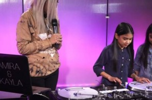 "Watch DJ's Amira & Kayla SLAY Their DJ Set On Hot 97's ""Ladies First"""