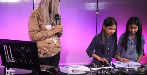 "LadiesFirst-500x257 Watch DJ's Amira & Kayla SLAY Their DJ Set On Hot 97's ""Ladies First"""