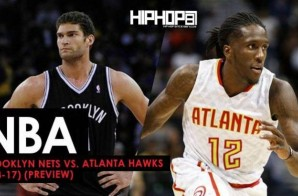 NBA: Brooklyn Nets vs. Atlanta Hawks (3-8-17) (Preview)
