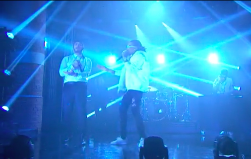 "Post Malone Grabs Quavo & Metro Boomin For His ""Congratulations"" Performance on 'Late Night with Seth Myers' (Video)"