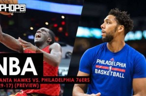 NBA: Atlanta Hawks vs. Philadelphia 76ers (3-29-17) (Preview)