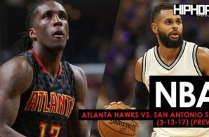 NBA: Atlanta Hawks vs. San Antonio Spurs (3-13-17) (Preview)