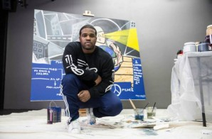A$AP Ferg To Donate A$AP Yams Mural For Charity Art Auction!