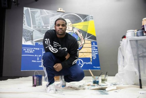 asap-ferg-asap-yams-painting-1-500x334 A$AP Ferg To Donate A$AP Yams Mural For Charity Art Auction!