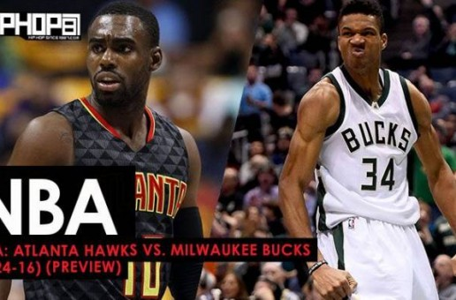 NBA: Atlanta Hawks vs. Milwaukee Bucks (3-24-17) (Preview)