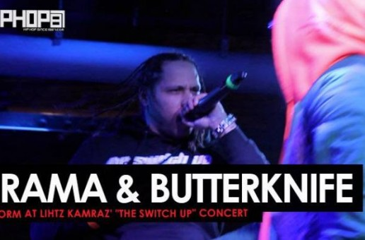"Drama & Butterknife Perform ""Dreaming Bout The Money"" at Lihtz Kamraz ""The Switch Up"" Concert"