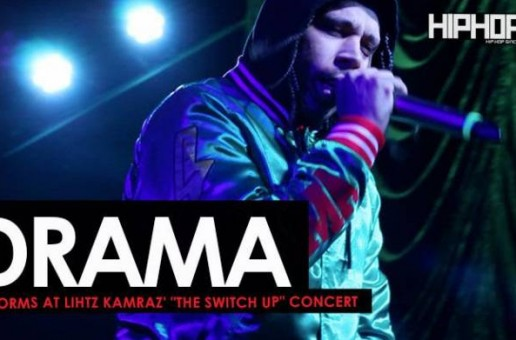 "Drama Performs at Lihtz Kamraz ""The Switch Up"" Concert"