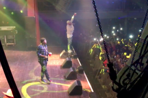 "Fabolous & Jadakiss Perform at The ""Freddy Vs. Jason"" Concert (Philly)"
