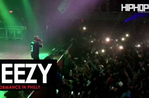 Jeezy Performs Live At The Fillmore (Philly 2017) (Video)