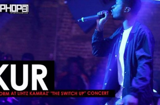 "Kur Performs ""UpTop"" & More at Lihtz Kamraz ""The Switch Up"" Concert"