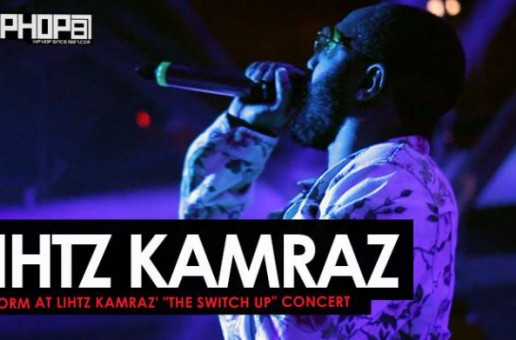 "Lihtz Kamraz Performs ""Die Young"" and More at His ""The Switch Up"" Concert"