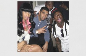 Nicki Minaj Drops '#3PackFromParis' Lil Wayne And Drake