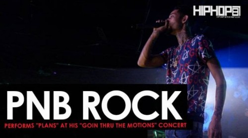"pnb-rock-plans--500x279 PnB Rock Performs ""Plans"" at His ""GTTM: Goin Thru The Motions"" Concert"