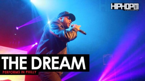 """The Dream Performs in Philly at His """"Love You To Death"""" Concert"""