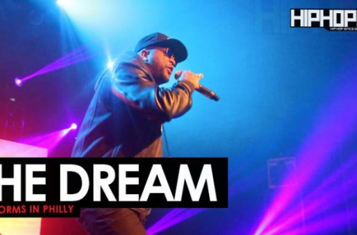 "The Dream Performs in Philly at His ""Love You To Death"" Concert"