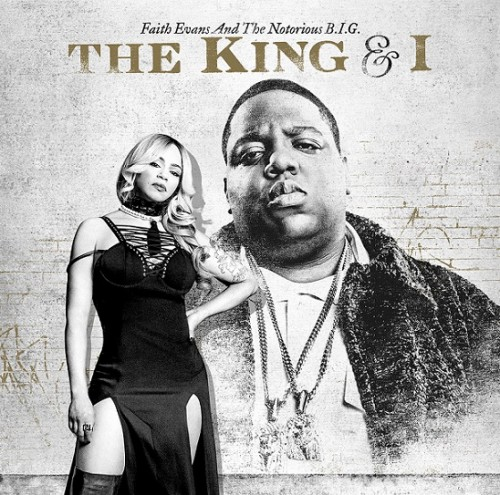 thek-500x495 Faith Evans & The Notorious B.I.G. 'The King & I' Album Cover