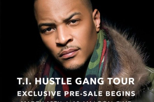 T.I. Will Be Hitting The Road On 'Hustle Gang' Tour