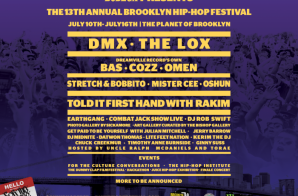 DMX & The Lox to Headline The 13th Annual Brooklyn Hip Hop Festival