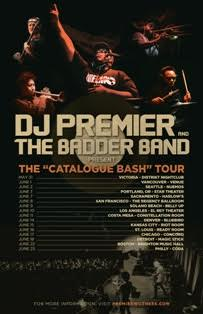 "DJ Premier & His Live Band ""The Badder Band"" Announce New Tour"