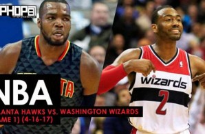 NBA Playoffs: Atlanta Hawks vs. Washington Wizards (Game 1) (4-16-17) (Recap)