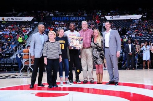 True To Atlanta: Atlanta Hawks Star Paul Millsap Awarded The Jason Collier Memorial Trophy
