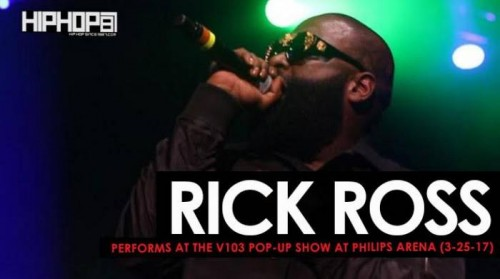 Rick-Ross-500x279 Rick Ross Performs at the V103 Pop-Up Show at Philips Arena (3-25-17) (Video)