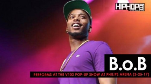 b.o.b-500x279 B.o.B Performs at the V103 Pop-Up Show at Philips Arena (3-25-17) (Video)