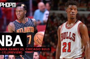 NBA: Atlanta Hawks vs. Chicago Bulls (4-1-17) (Preview)