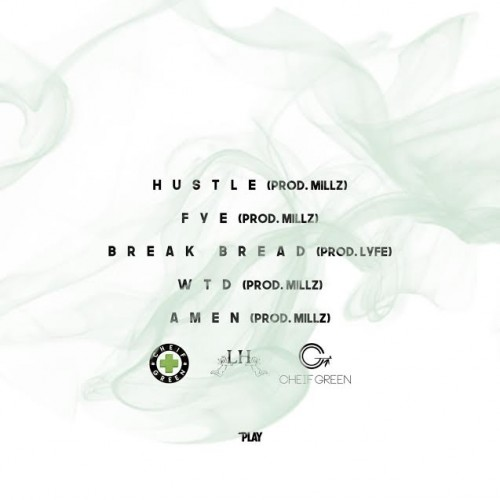 cheif-2-500x500 Cheif Green - Schmoke Break (Vol. 1) (Mixtape) (Hosted by DJ Tephlon)