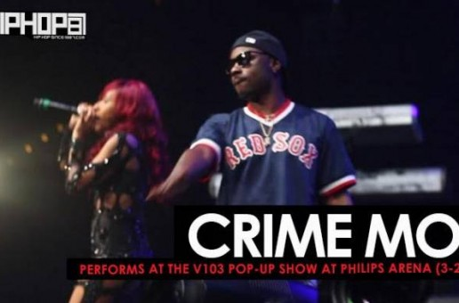 Crime Mob Performs at the V103 Pop-Up Show at Philips Arena (3-25-17) (Video)
