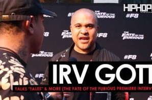 "Irv Gotti Talks His New Series ""Tales"", Fast & The Furious & More at The Fate of The Furious ""Welcome to Atlanta"" Private Screening (Video)"