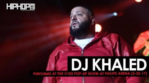 "khaled-500x279 DJ Khaled Performs ""Shining"", ""For Free"" & More at the V103 Pop-Up Show at Philips Arena (3-25-17) (Video)"