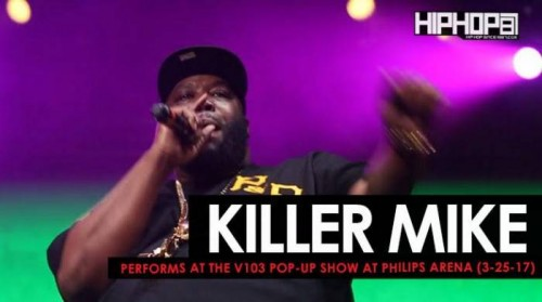 "killer-mike-500x279 Killer Mike Performs ""The Whole World"" at the V103 Pop-Up Show at Philips Arena (3-25-17) (Video)"