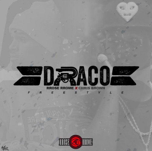 "raco-500x497 Chris Brown Links Up With BK's RRose RRose For Their ""Draco"" Freestyle"