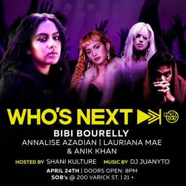 unnamed-1-3 Bibi Bourelly, Annalise Azadian, & More To Headline Hot 97's Who's Next Live Show